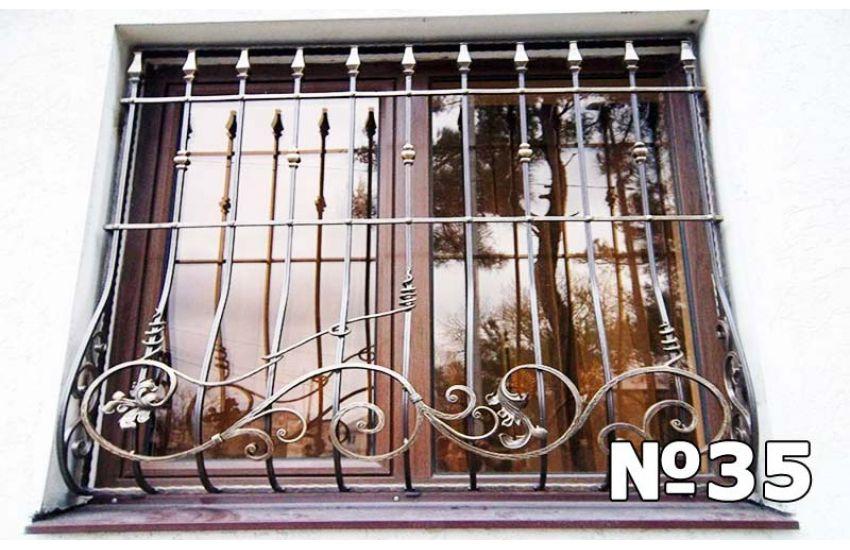кованые решетки на окна фотографии