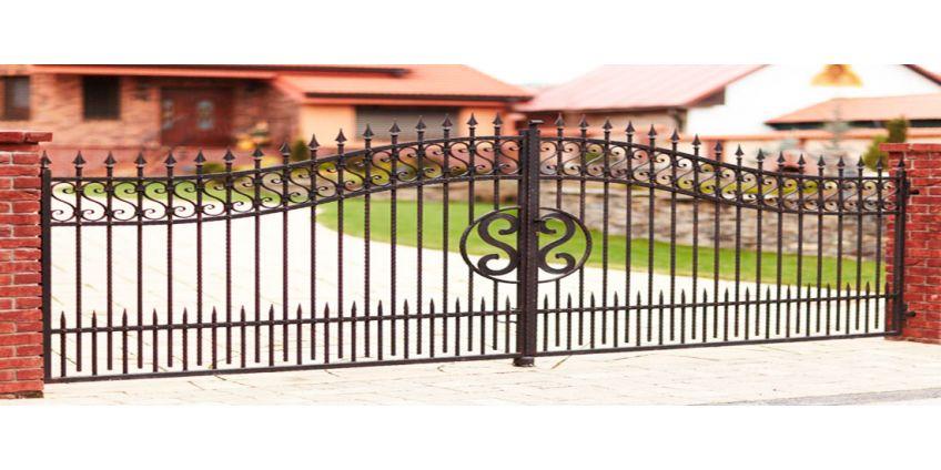 Установка ворот своими руками - инструкция
