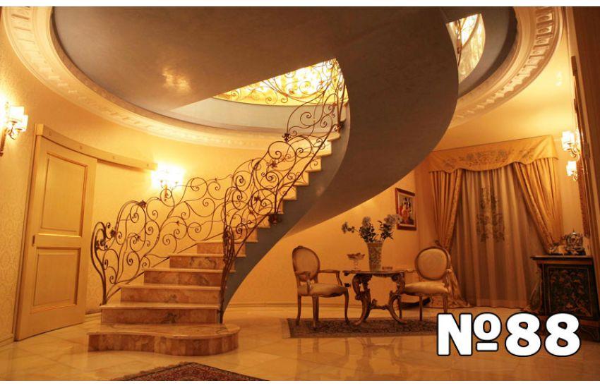 стоимость винтовой лестницы на второй этаж