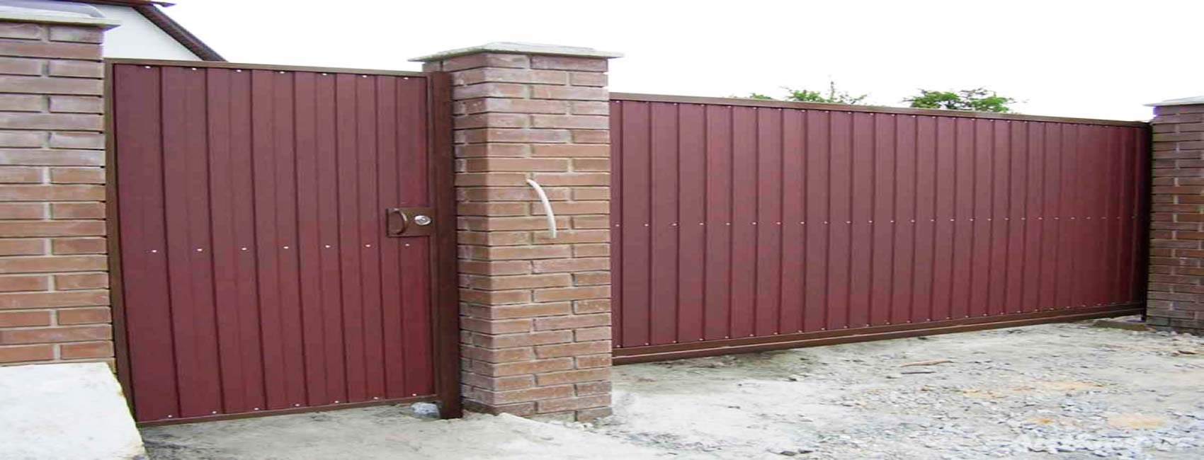 откатные ворота коломна