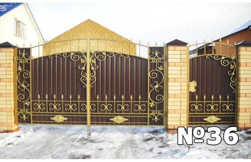 кованые ворота цена
