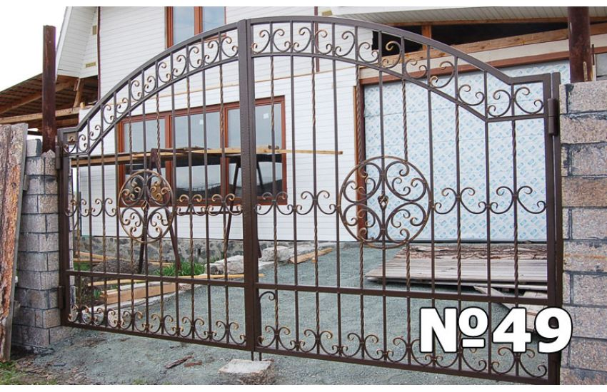 вороты кованые художественные