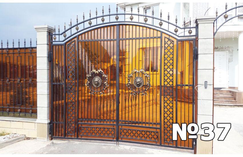 ковка ворота кованые