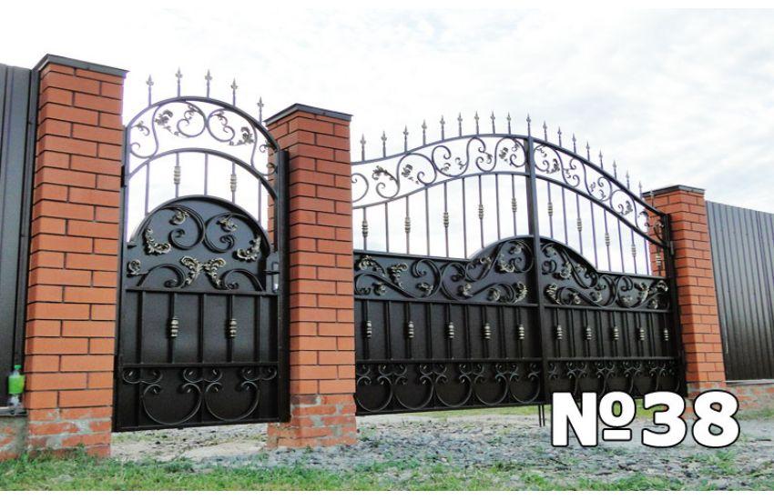 купить кованые ворота