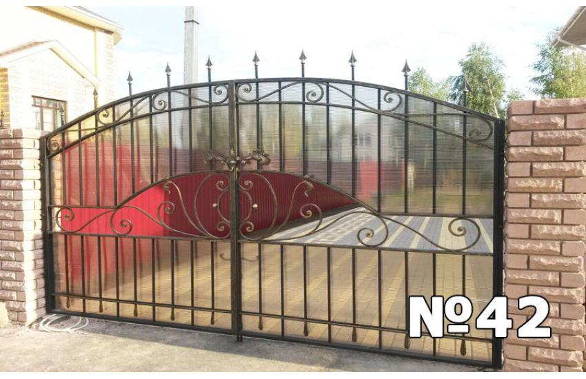 ворота и калитки кованые ковка