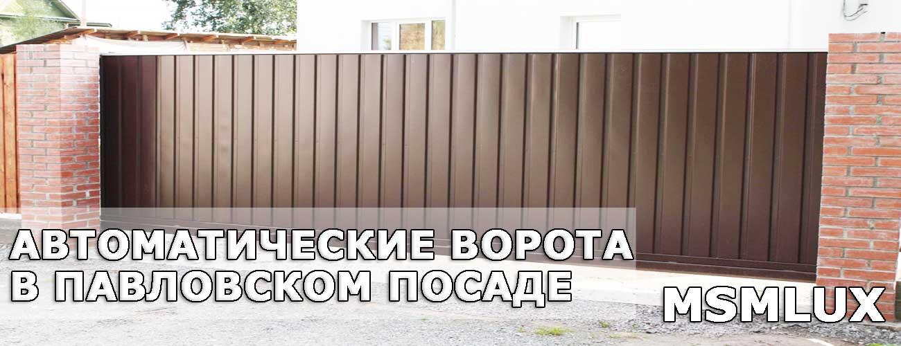 Ворота в Павловском Посаде
