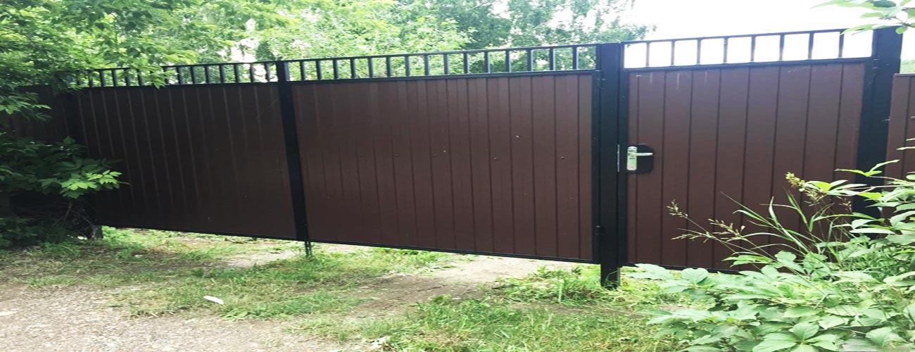 Ворота с калиткой Раменское