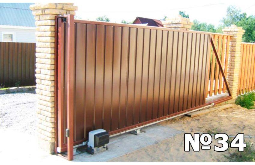 Купить откатные ворота
