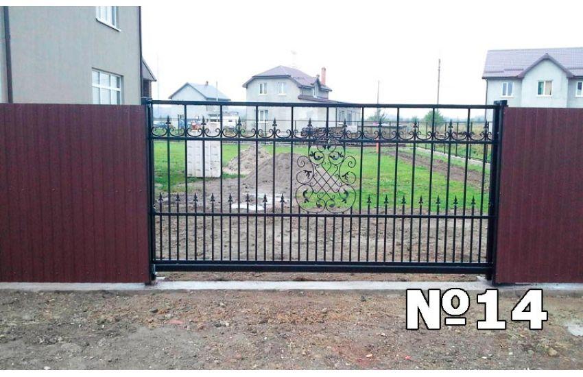 сварные ворота фото