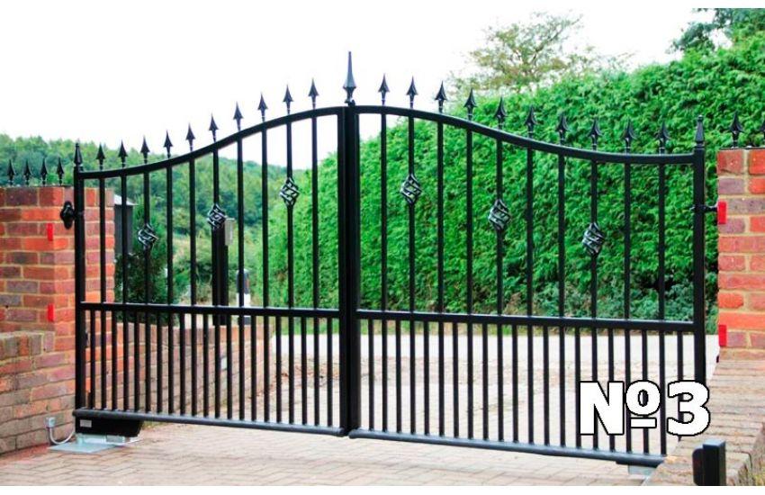 ворота сварные металлические