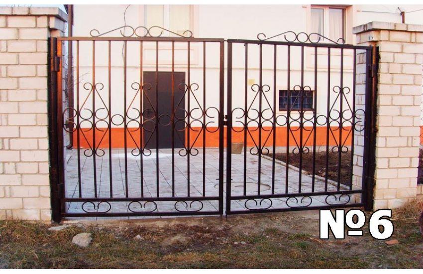 ворота калитки сварные