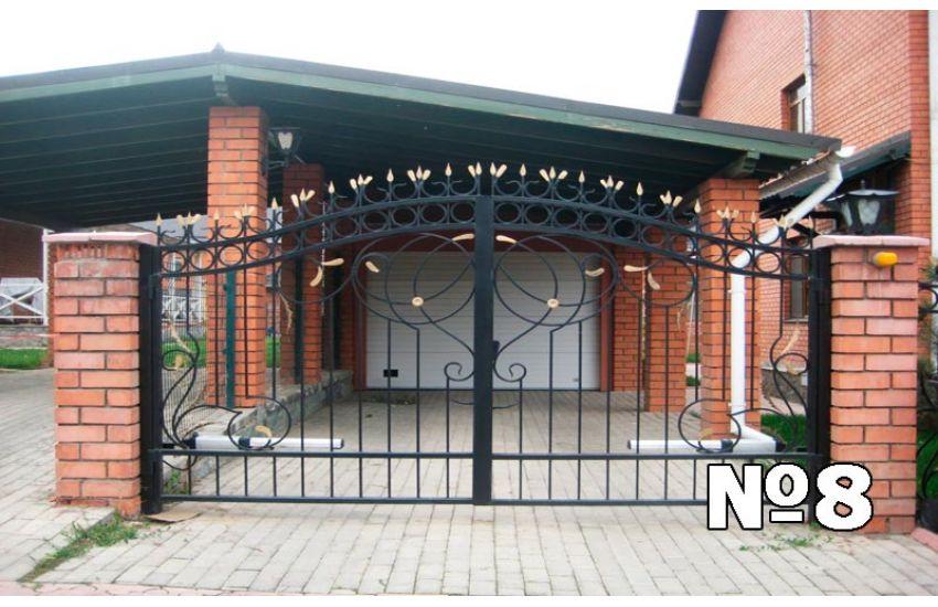 изготовление сварных ворот