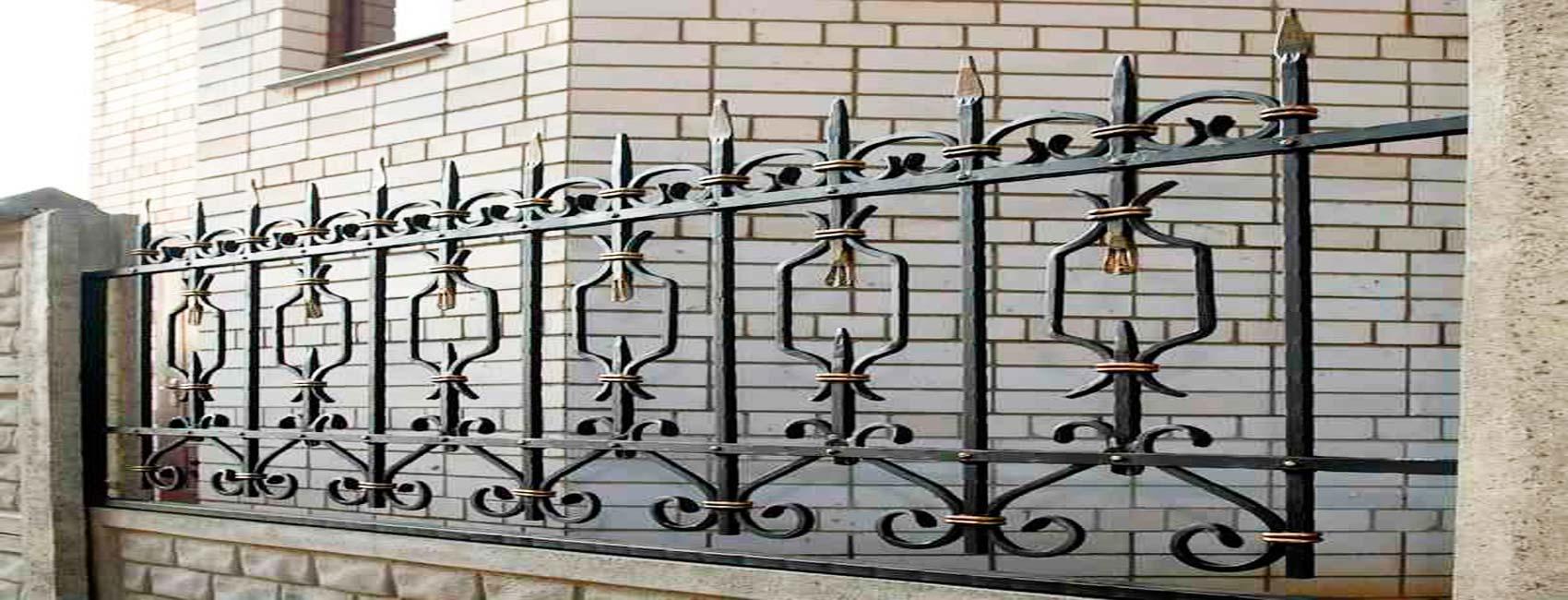 кованый забор домодедово