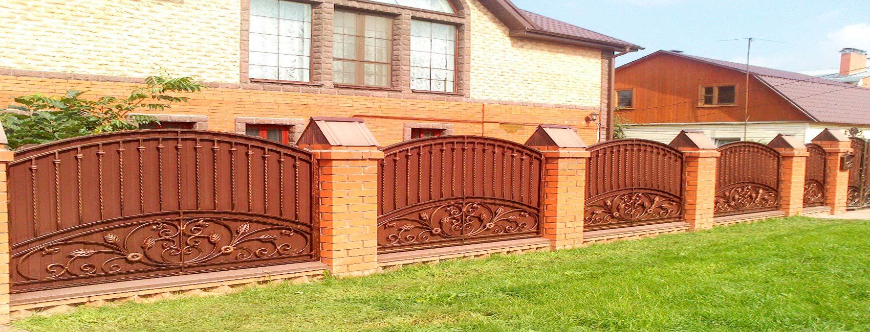 кованый забор раменское