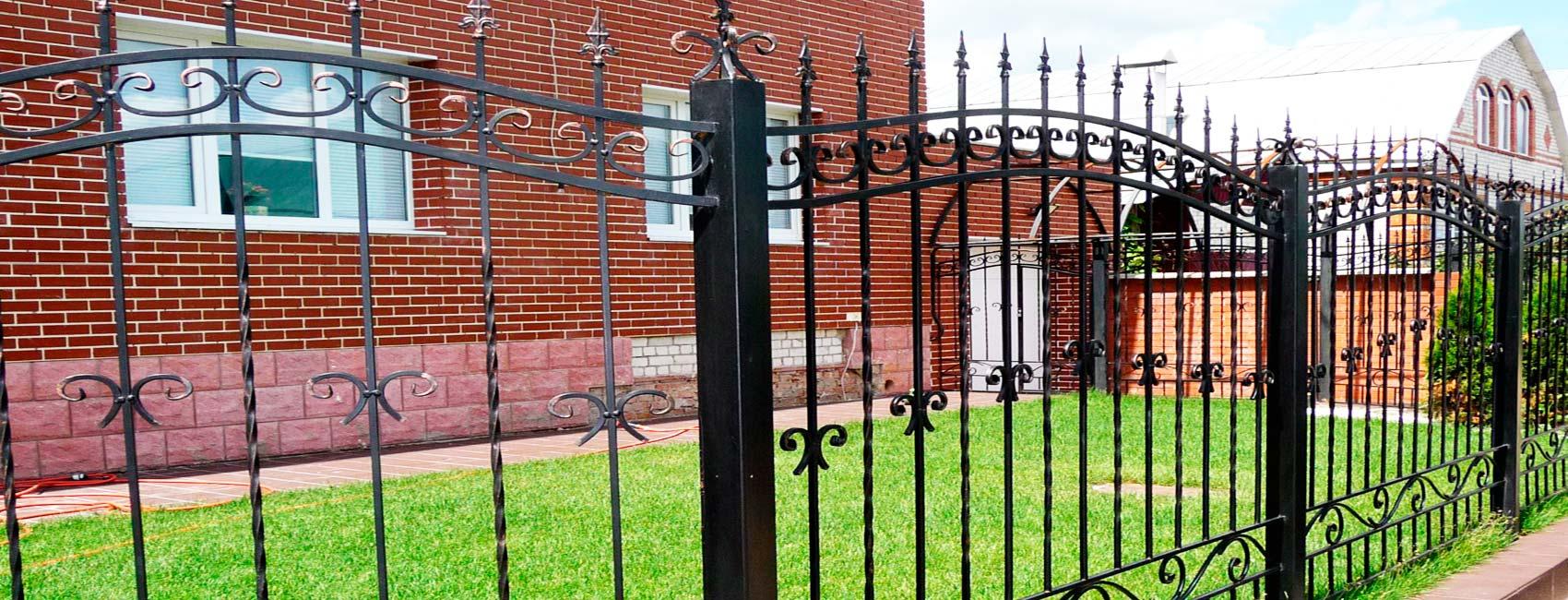 забор кованый воскресенск