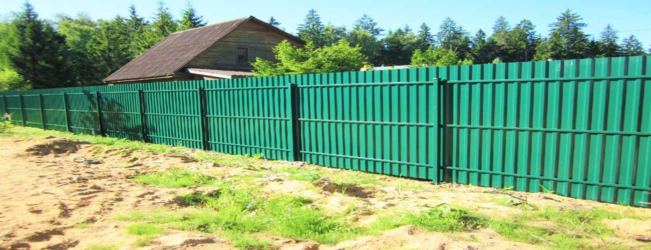 забор в жуковском